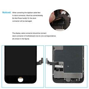 Image 4 - Montagem completa tela oem para iphone 8 mais display lcd digitador substituição com câmera frontal + alto falante placa pantalla