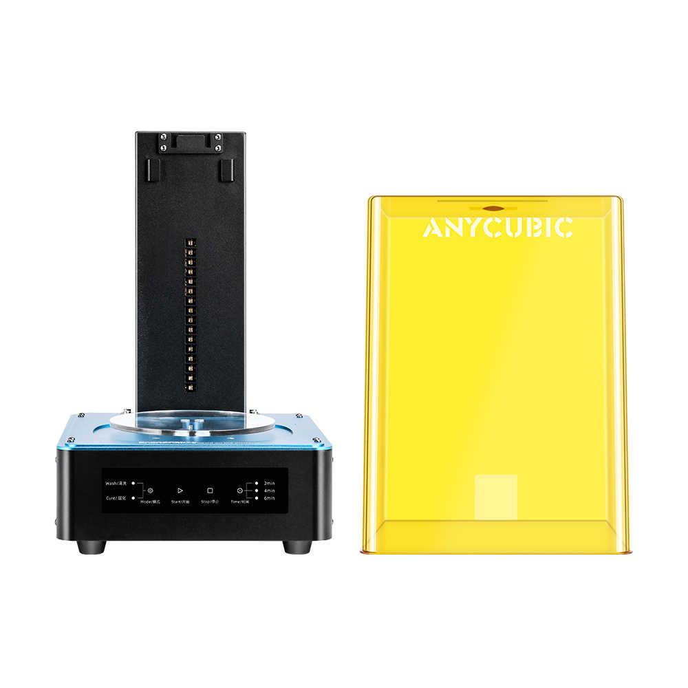 Impresora ANYCUBIC 3d, lavado y máquina de curado, curado de resina UV 2 en 1 para Impresora 3d, modelos Cure Impresora 3d impressora 3d