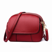 New Ladies Shell Fashion Shoulder Bag Womens Solid Color Crossbody Female Simple And Elegant Messenger