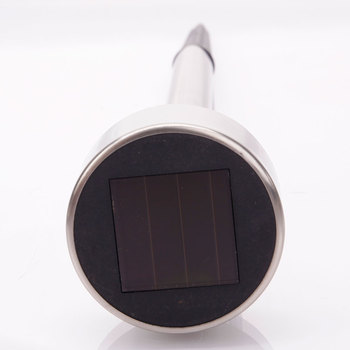 【US Warehouse】10pcs 5W High Brightness Solar Power LED Lawn Lamps with Lampshades Seven Color