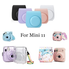 Cover-Shell Camera Shoulder-Strap Instant-Film Mini Case Handbags for 11