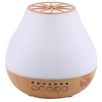 Ultrasonic Aroma Diffuser Air Humidifier Bluetooth Speaker Led Night Light Aromatherapy Machine Home Office Yellow|Humidifiers| |  -