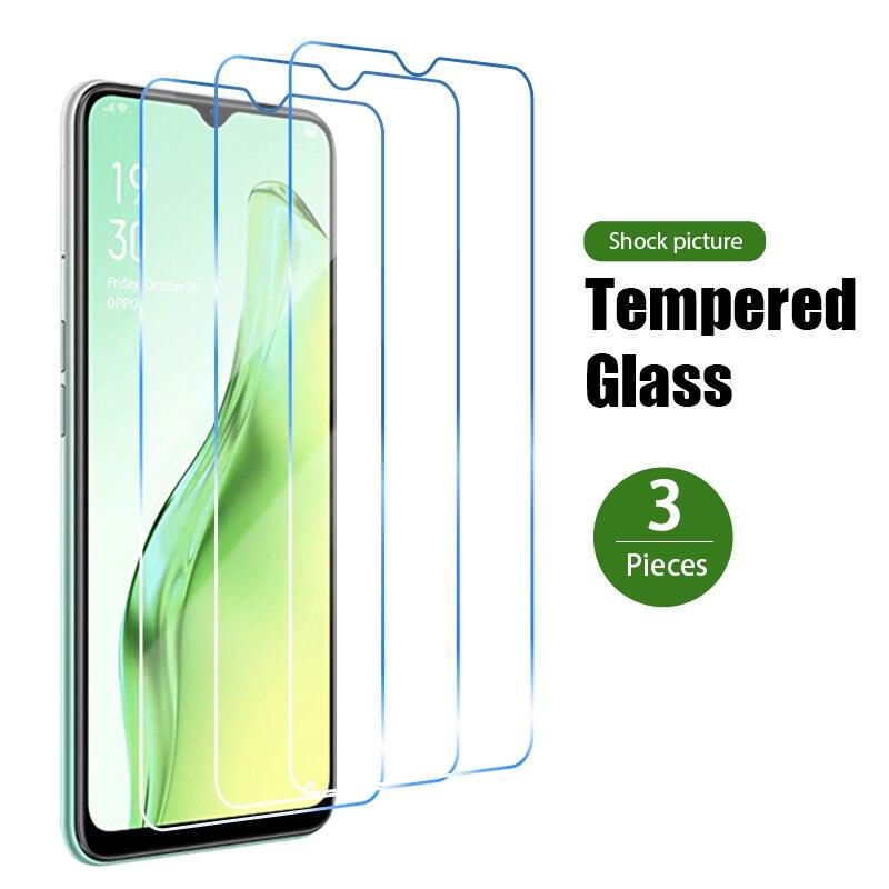 Пленка 1/2/3 шт. закаленное стекло для OPPO A12 A12e A3 A5X A5 2020 HD защита для экрана для OPPO A9 2020 A9X A8 A7 A7X стеклянная крышка 9H