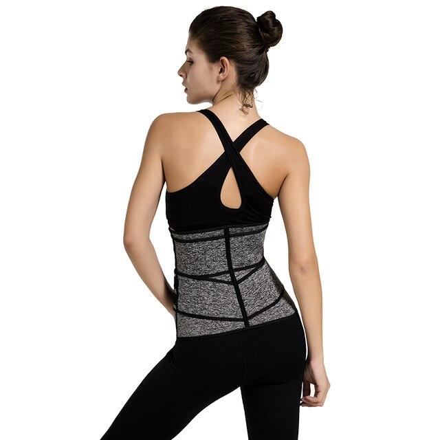 Waist Trainer Neoprene Body Shaper Women Slimming Sheath Belly Reducing Shaper Tummy Sweat Shapewear Workout Trimmer Belt Corset 5