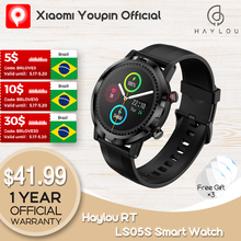 2021Youpin Haylou RT LS05S Smartwatch Newest Version Heart Rate Monitor Sport Watch IP68 Waterproof Fitness Global Version