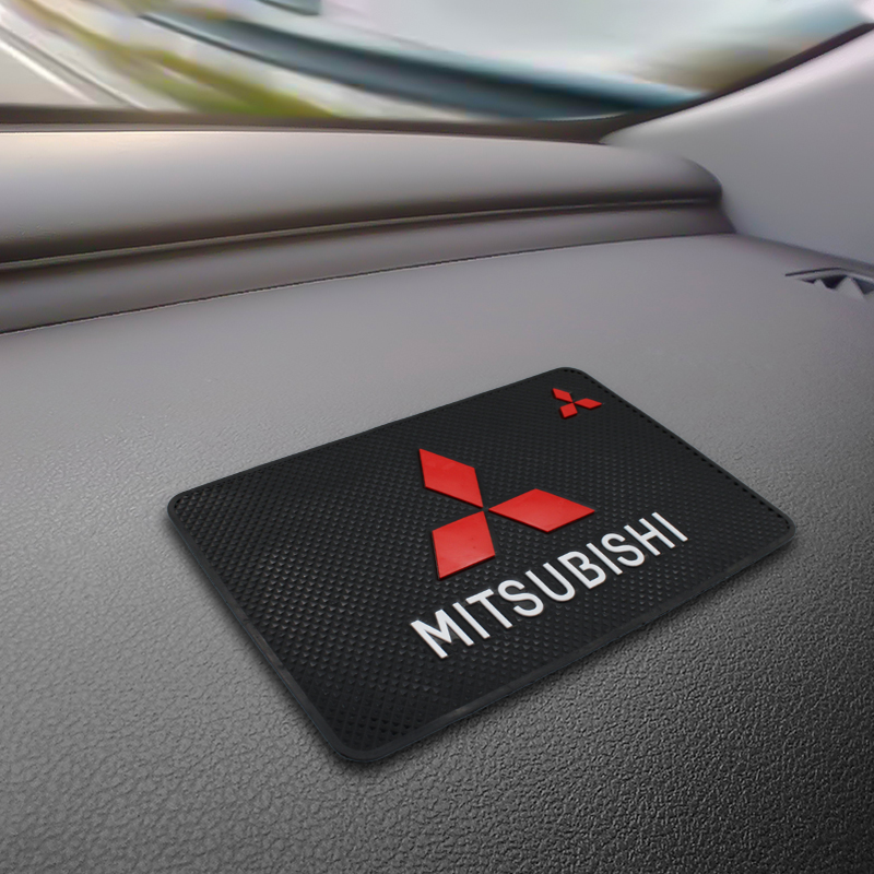 Car Anti-Slip Dashboard Sticky Pad Non-slip Mat Phone For Mitsubishi Lancer Asx Outlander Pajero L200 Galant Car Accessorie