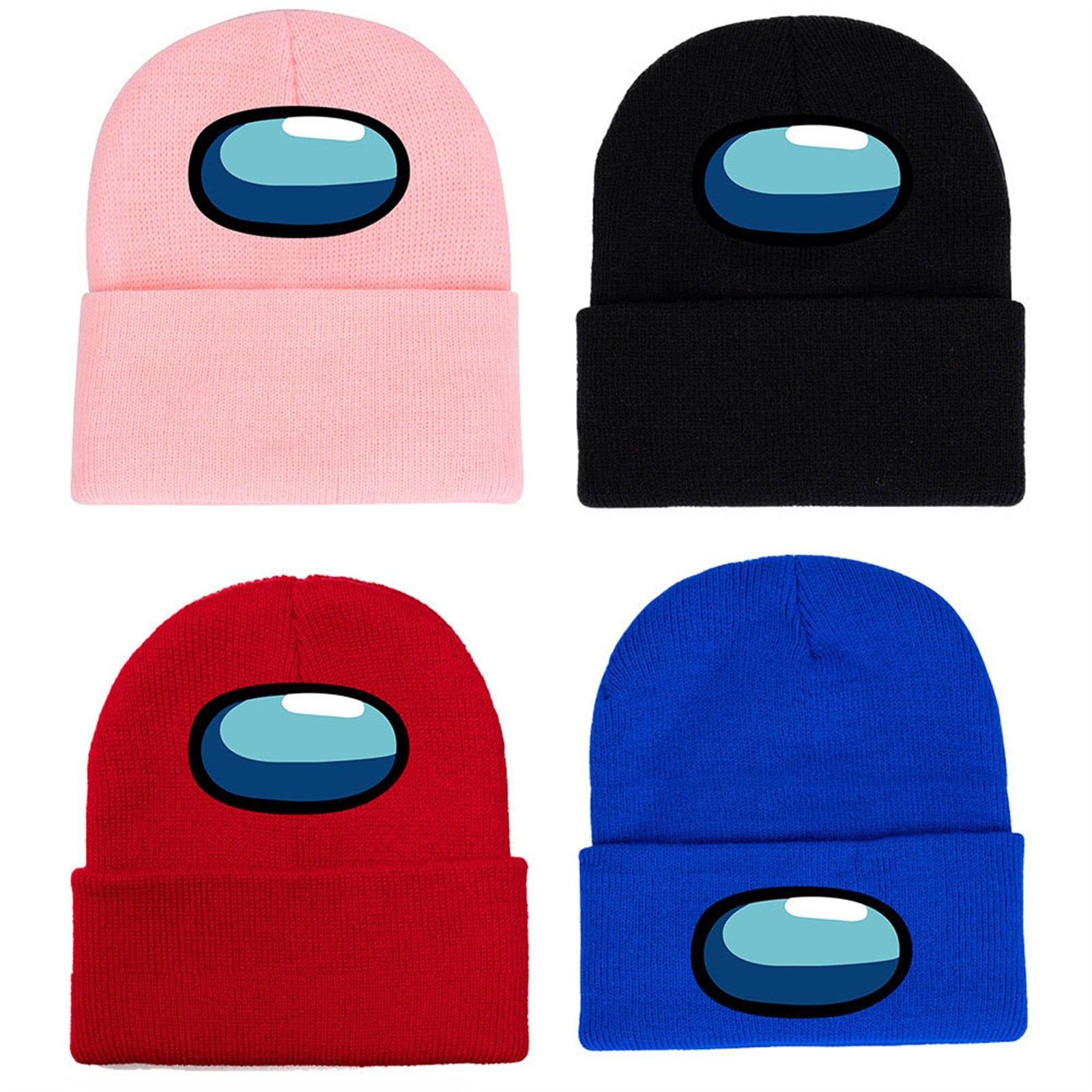 Tapas de juego caliente entre nosotros de punto de invierno sombrero de modelo tapas juego gorro de Hip Hop mantener caliente regalo algodón sombrero gorros de esquí para niños