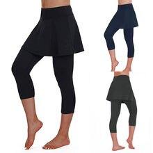 Culotte slim pour femmes, jupe décontractée, Leggings, pantalon court de Tennis, de sport, Fitness, tendance 2020