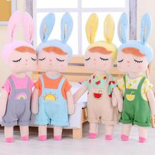 Rabbit Cute Princess Dress Replaceable Doll Girl's Toy Doll  Angela Doll  Children's Birthday Gift Plush Toy cute resin bride and bridegroom toy doll