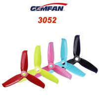 Gemfan Flash 3052 PC 3-Pala de la hélice de 5mm de orificio de montaje para 1306-1806 Motor RC Drone FPV Racing