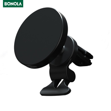 Bonola 15W רכב מגנטי אלחוטי טעינה עבור Magsafe iPhone 11 12/Xiaomi mi 9/סמסונג S21 הערה 20 מהיר טעינת Stand מחזיק