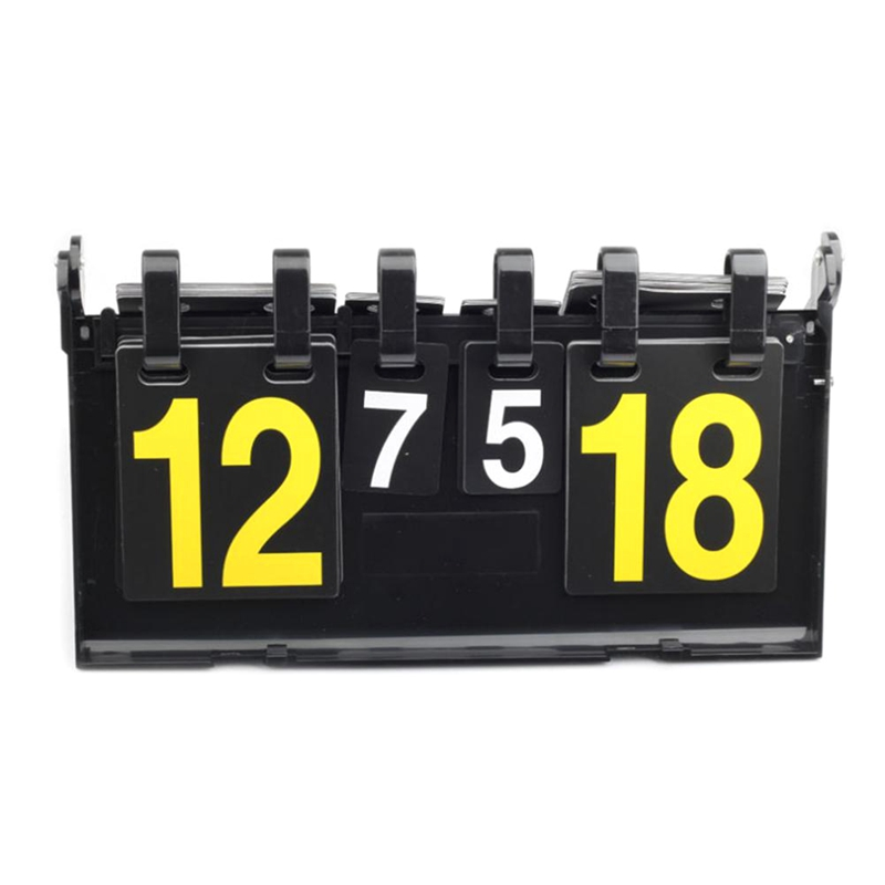 Game Sport Scoreboard 4 Digit Football Basketball Scoreboard Soccer Volleyball Handball Tennis Sports Scoreboards