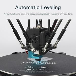 Image 2 - Anycubic Kossel 3D מדפסת DIY דלתא מדפסת לבנות autoumatic פלטפורמת פילוס 3d ערכות impresora דרוקר impressora