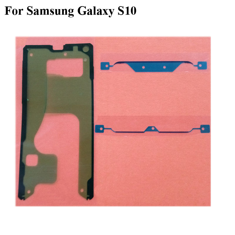 1 SET Adhesive Tape For Samsung <font><b>Galaxy</b></font> <font><b>S10</b></font> S 10 3M Glue Front LCD Supporting Frame <font><b>Sticker</b></font> SM-G9730 image