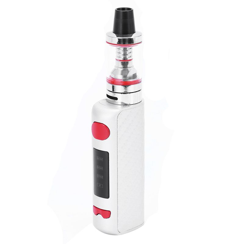 NEW Electronic Cigarette Vapor Smoke Pen Hookah MINI 80W Starter Kit 510 Metal Body 2.5ml Atomizer e cigarette Vape