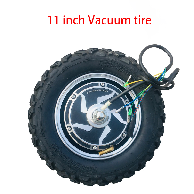 Off-road vacuum tire electric <font><b>scooter</b></font> motor Electric motorized <font><b>scooter</b></font> motor 11inch <font><b>1000W</b></font> 48V image