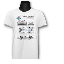 T-Shirt GT 40 MK1 1966 Muscle Car 24 Hour Race Le Mans Ligier Top Quality  2019 Newest MenS Funny Streetwear Tees T Shirts