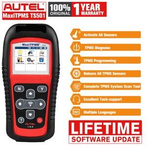 Image 1 - I sensori di pressione dei pneumatici TPMS Autel TS501 attivano e decodiscono lo strumento come TS508 TS601