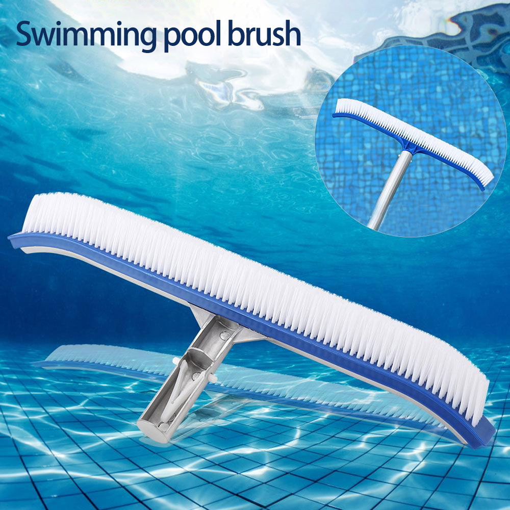 US $8.79 49% OFF|18inch Pool Brushes Swimming Pool Wall Brush Cleaning  Tools Moss Cleaning Brushes Pond Spa Pools Cleaner Swimming Pool Brushes on  ...