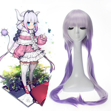 Anime Miss Kobayashis Dragon Maid Cosplay Wigs Kanna Kamui Wig Synthetic Hair Kobayashi San Chi No