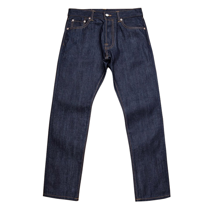 511XX-0007 Read Description! Top Quality Raw Indigo Selvage Unwashed 13oz Denim Pants Unsanforised Natural Dye Raw Denim Jean