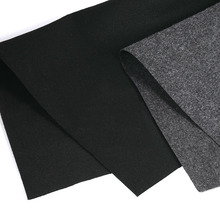 Gray/Black Speaker Cloth Car Subwoofer Box Polyester Fiber Sound-Absorbing Board Clothes Anti-Seismic Blanket Felt