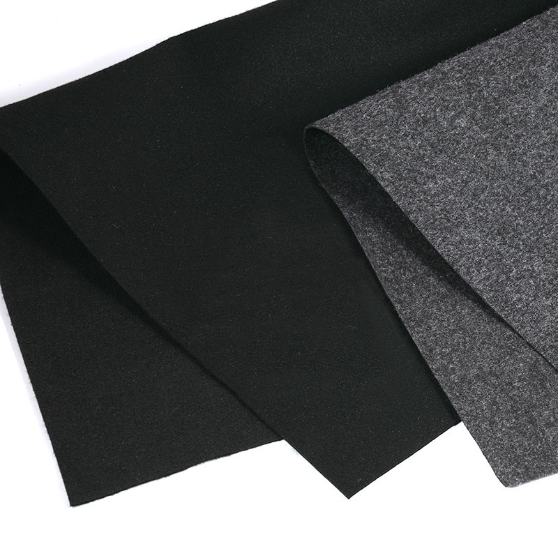Gray/Black Speaker Cloth Car Subwoofer Box Polyester Fiber Sound-absorbing Board Cloth Anti-seismic Blanket Felt