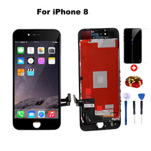 цена на AAA+++LCD Display For iPhone  iphone 6 lcd screen replacement with Touch Screen Digitizer Assembly 5 6 lcd 7 lcd 8Plus