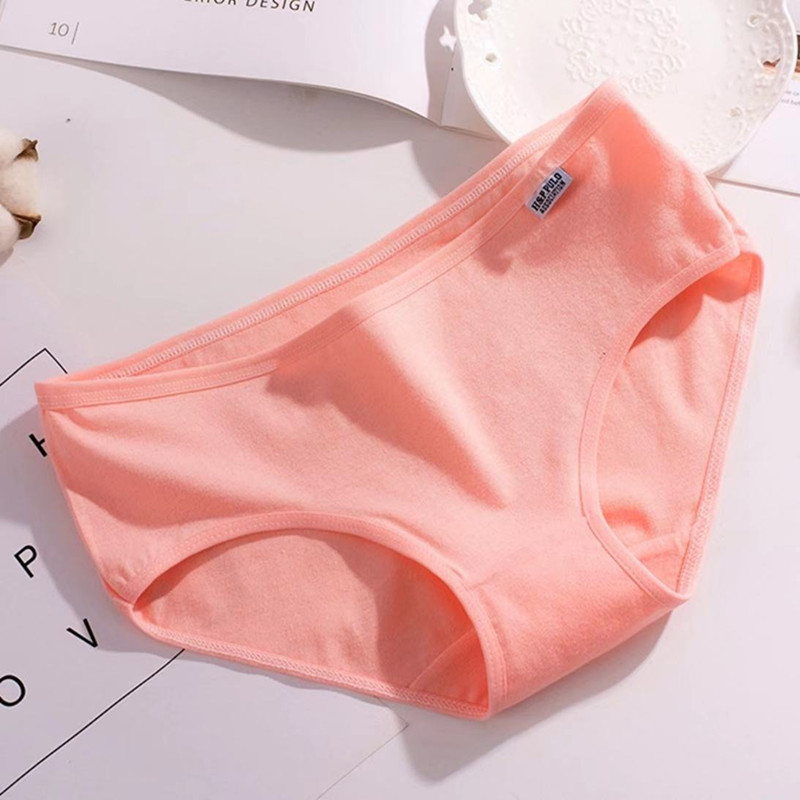 4Pcs/Lot Teenage Panties 10-14Years Old teen Underwear Children Cotton Kids Girls Solid Color Puberty Big Sport Colorful 4
