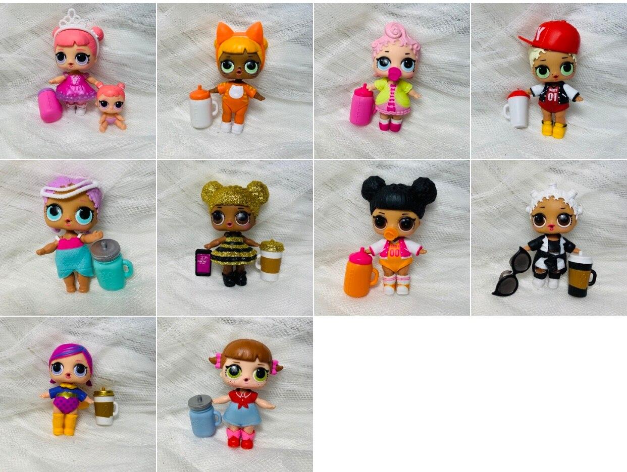 LOL Doll Surprise Original 1 Generation Original Anime Collection Actie & Toy Figures Model Toys For Children