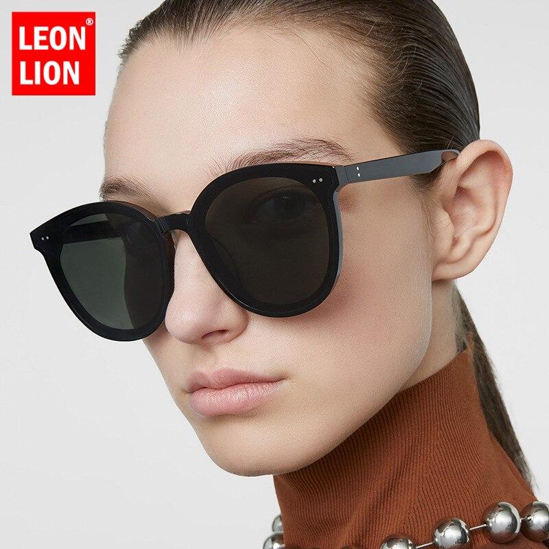 LeonLion Round Retro Sunglasses Women Designer Sunglasses Women 2019 High Quality Glasses For Women Brand Oculos De Sol Feminino