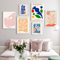 Exhibition Henri Matisse Retro Posters and Prints Abstract Wall Art Vintage Canvas Painting Pictures for Living Room Home Decor
