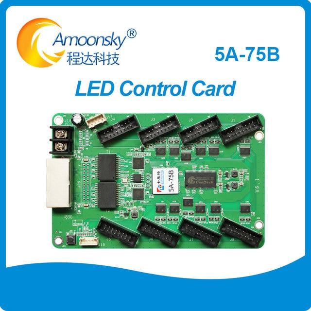 Colorlight 5A 75B LED מלא צבע וידאו תצוגת סינכרוני כרטיס בקרת LED מסך כונן לוח 5A 5A 75 קבלת כרטיס LED