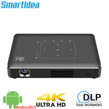 Smartldea جهاز عرض ذكي P10 II 4K ، android 9.0 ، Dual ، 2.4G ، 5G ، wifi ، Bluetooth 4.1 ، full hd ، 1080p ، لألعاب الفيديو