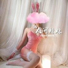 Erotic-Outfit Costume Cosplay Bunny Girl Jumpsuit Underwear Rabbit-Uniform Romantic Sexy Anime