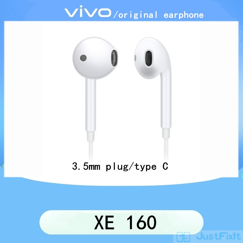 Écouteur dorigine Vivo XE160, Vivo X50 X30 X27 X23 X21 X20 Z5x IQOO Vivo téléphone universel S6 écouteur