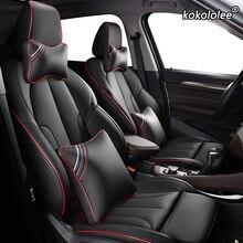 Kokololee Custom Leder auto sitz abdeckungen Für BMW 7 Serie F01 F02 F03F04 G11 G12 E65/66 X1 E84 f48 F49 Autos Sitzbezüge