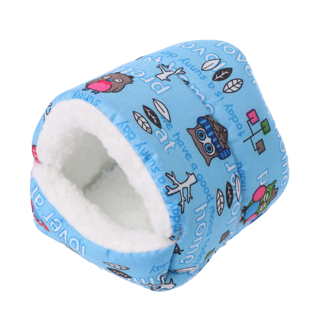 Hamster Cotton Nest Small font b Pet b font Warm House Dutch Pig Chinchillas Hedgehog Golden
