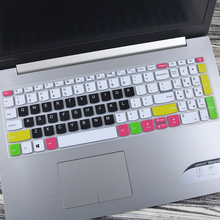 Силиконовый чехол для клавиатуры Lenovo IdeaPad, 15,6 дюйма, 330, 330s, 340 s, 520, 130, S145, L340, S340, 15IWL, 15API, защита кожи