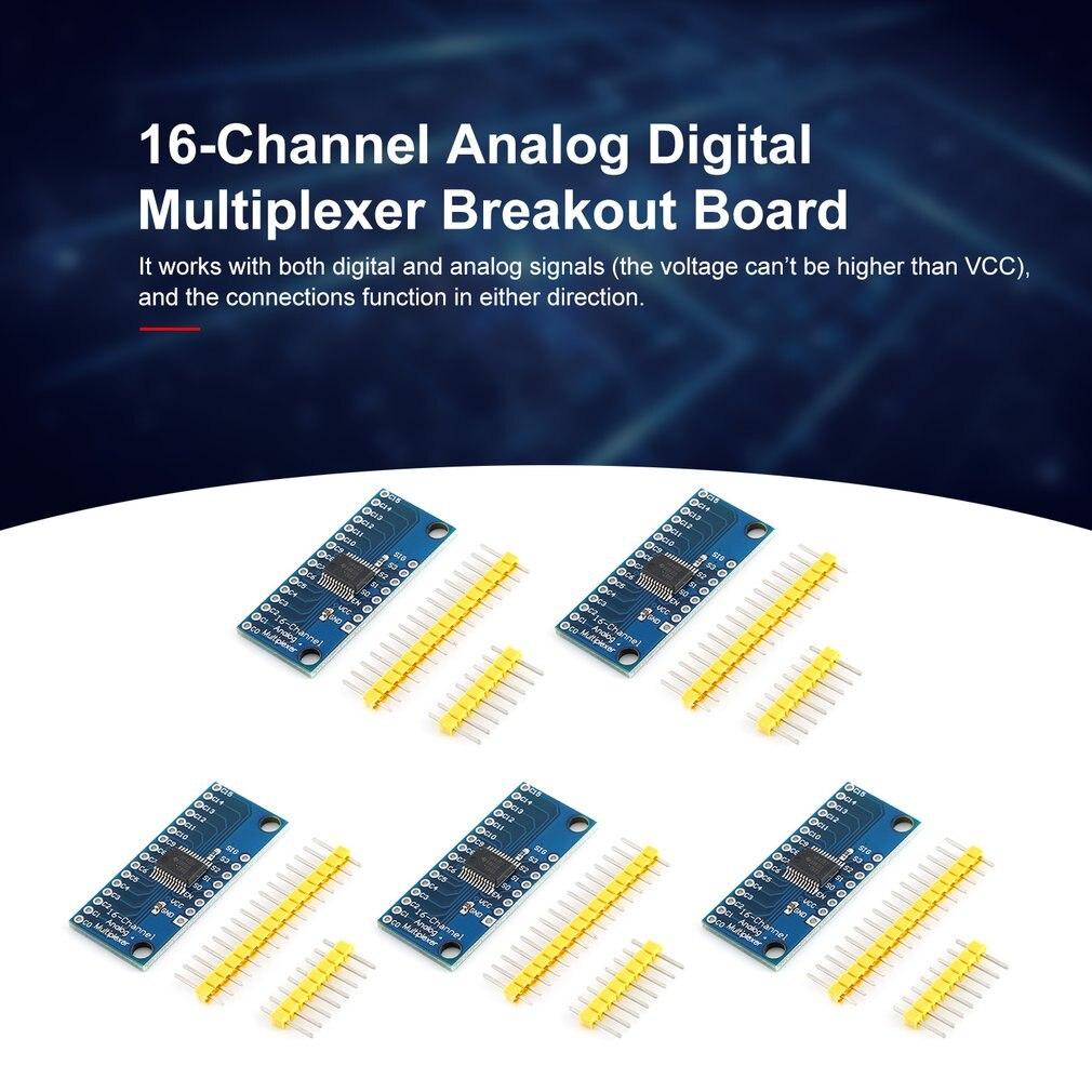 For Arduino CD74HC4067 Analog Digital MUX Breakout Board CMOS 16CH New