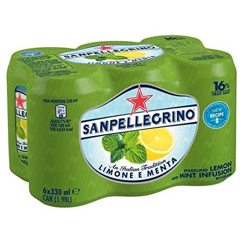San Pellegrino Citron Et Menthe 6 X 330Ml