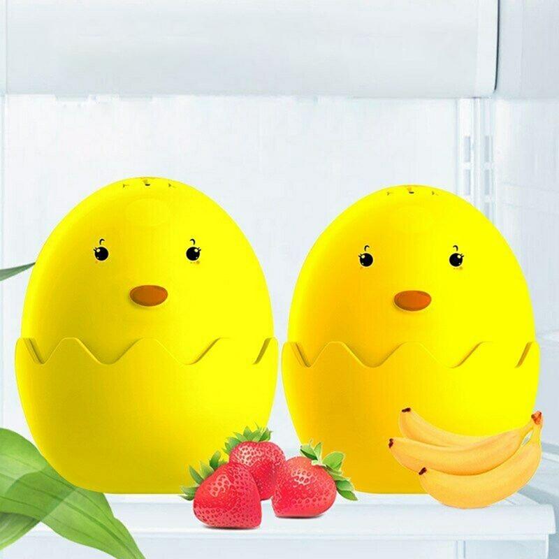 New Refrigerator Deodorizer Egg Remove Odor Adsorbent Ball Diatom Purify Air Absorb Bad Smell