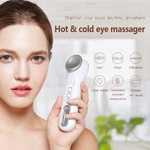 Массажер для глаз tinwong с подогревом и горячим холодным эффектом