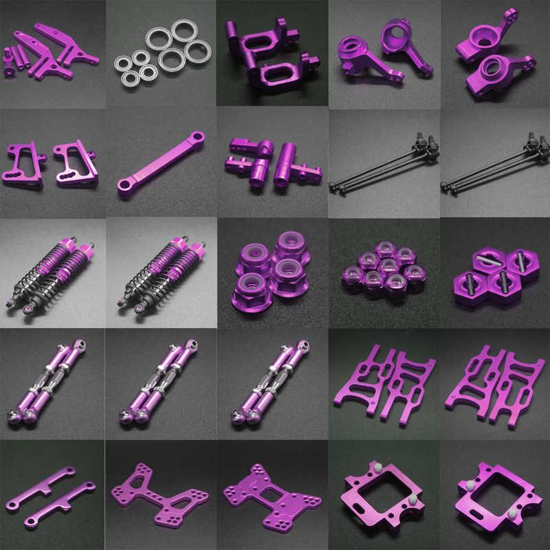 Paquete de piezas de actualización para RC 1:10 todoterreno Buggy Electric & Nitro Purple HSP 94107, 94170, 94106 kit