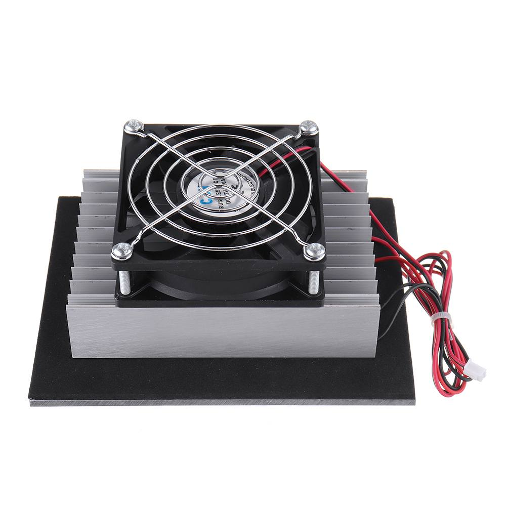 NEW 12V 120W Electronic Semiconductor Refrigeration Small Air Conditioner Micro Cooling System Space Radiator Refrigerator