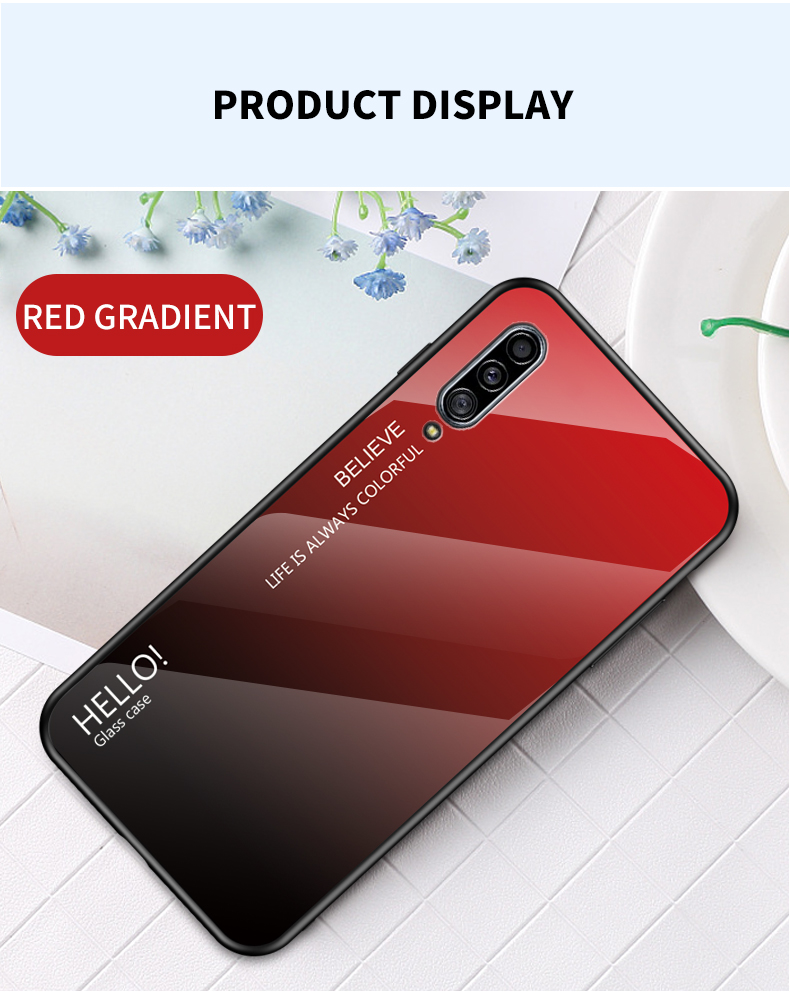 IQOO Pro Case Luxury Silicone Frame Glass Coque For OPPO IQOO NEO 855 845 Case Discolor Tempered Glass Back Cover IQOO