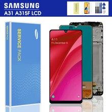 100% Test do Samsung Galaxy A31 A315 wyświetlacz LCD ekran dotykowy Digitizer LCD do Samsung A31 A315F wymiana wyświetlacza