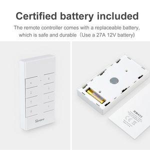Image 5 - Itead SONOFF RM433 433 Mhz kontroler RF 8 klucz bezprzewodowy uniwersalny klucz elektryczny pilot do sonoff RF TX 4CH PRO R2 Wifi przełącznik