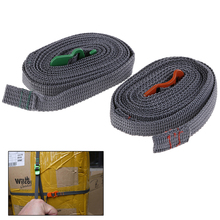 HOT!Camping Hiking Rope Durable Quick Release Luggage Strap Outdoor Tool with Stainless Steel Hook