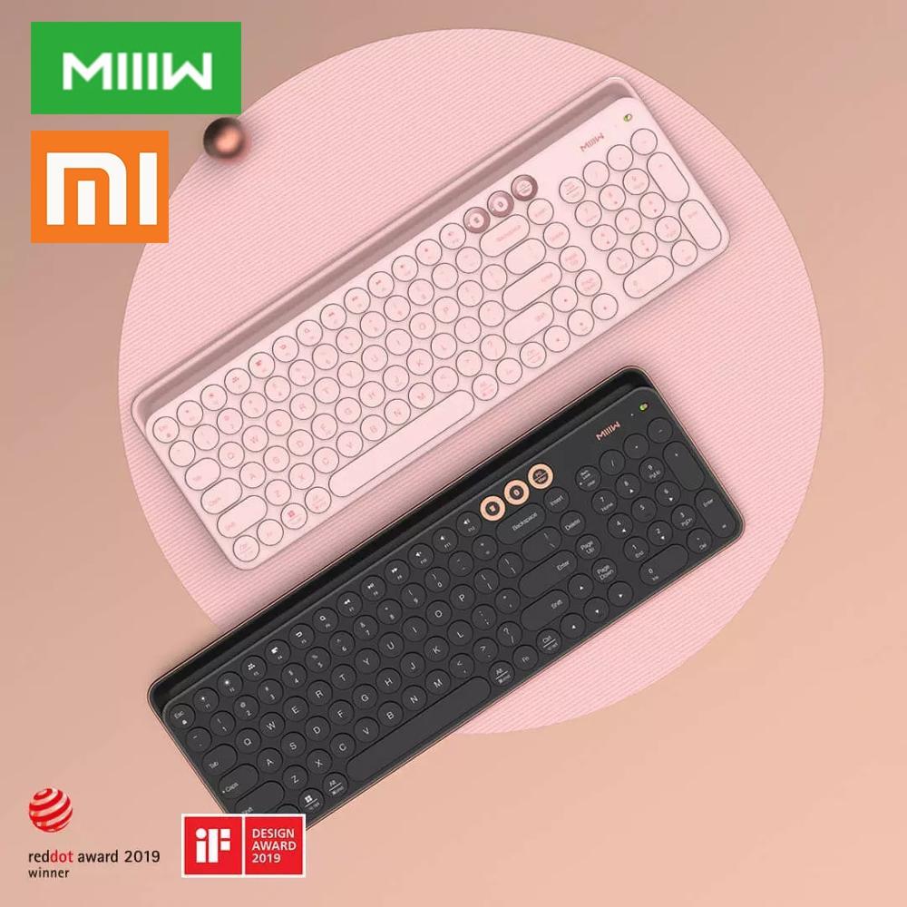 Xiaomi Miiiw Bluetooth Dual Mode Keyboard 104 Keys 2.4GHz Multi Compatible Wireless Portable Keyboard